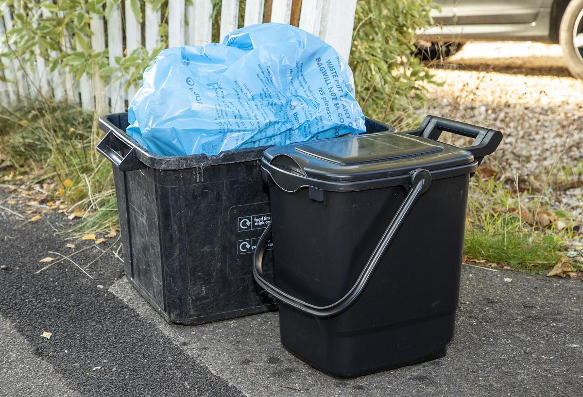 Food waste bins are coming to Bracknell Forest in October