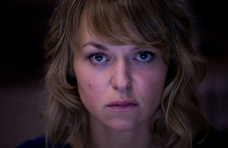 "Lisa Wagner in ""Kommissarin Heller - Vorsehung"""
