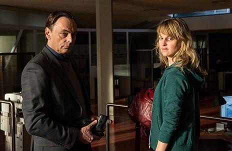"""Lisa Wagner & Peter Benedict in """"Kommissarin Heller - Vorsehung"""""""