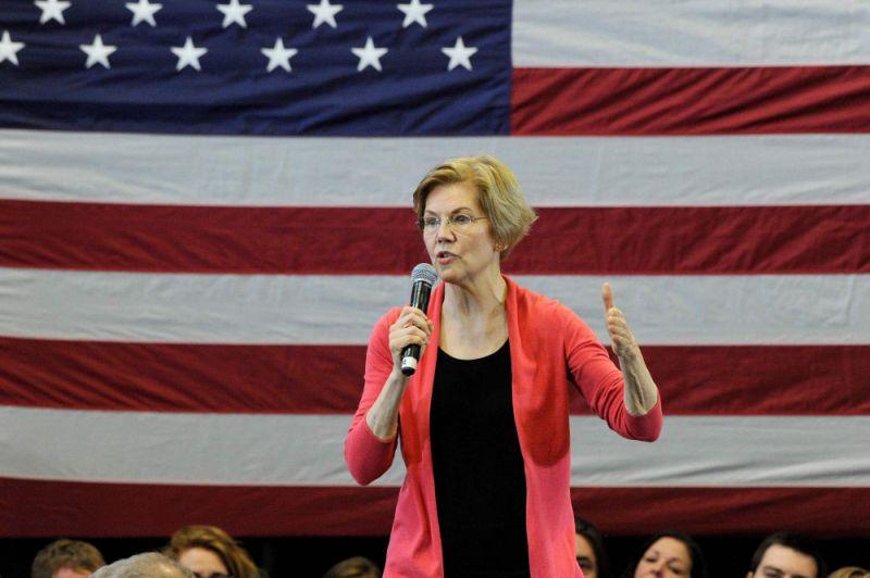Economist Tyler Cowen says that the bitcoin price surge has one incredibly surprising catalyst: Progressive presidential candidate Elizabeth Warren. | Source: Joseph Prezioso/AFP