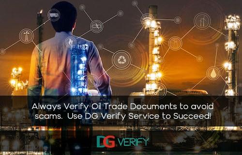 Verify Oil Trade Documents