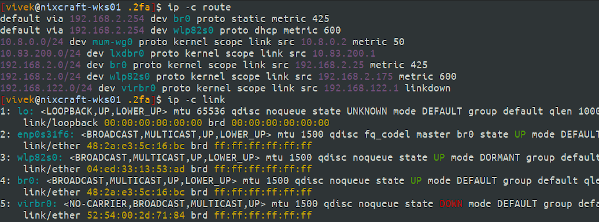 Linux IP Command Ultimate Tutorial with Color Examples