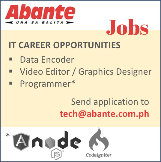 Abante Hiring – IT dep