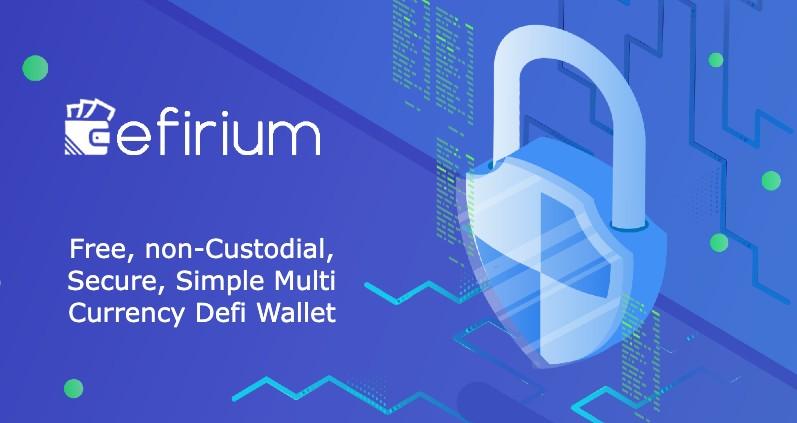 Defi crypto Efirium Wallet