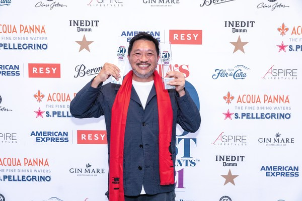 The Chairman in Hong Kong Takes No.1 Spot at Asia's 50 Best Restaurants 2021 Awards, sponsored by S.Pellegrino & Acqua Panna