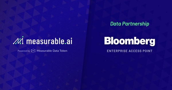Measurable AI's transactional data for emerging markets now available via Bloomberg