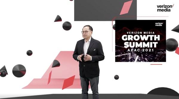 Mr. Rico Chan, Head of APAC Sales at Verizon Media gave opening remarks