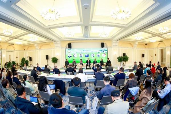 中国乡村教育振兴研讨会圆桌论坛环节