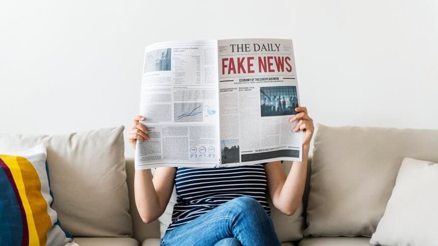 Here's how blockchain helps with fake news detection