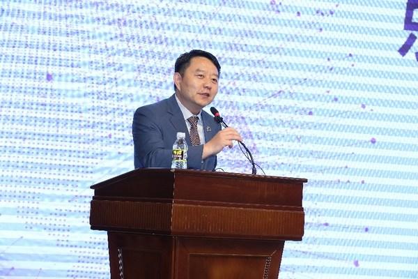 丹纳赫集团大中华区总裁兼中国区诊断平台总裁彭阳致辞